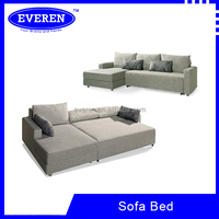 Modern Design L shape Metal Sofa cum Bed