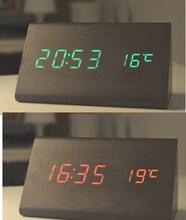 2015 new hot sale classic wood wall clock & led wood clock
