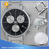 Branded OEM watch japan quartz movtment watch stainless steel case back watch