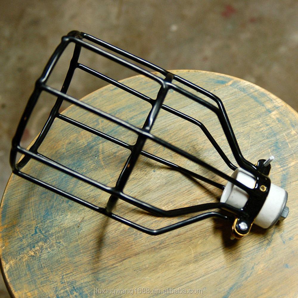 nickel wire bulb cage buy nickel wire bulb cage light. Black Bedroom Furniture Sets. Home Design Ideas