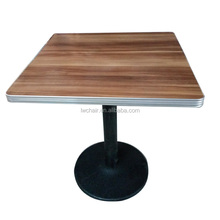 Melamine table top table bar and cafe table