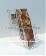 Hot sale four-storey clear acrylic card box at the best price