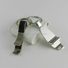 printed logo on blank key chains /customs bottle opener metal keychain / key ring