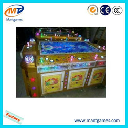 Electronic fishing video game consoles sea fishing game machine / commercial lottery redemption game machine