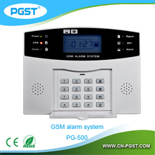 2015 best sales GSM Dual Network home alarm system with wireless sensors