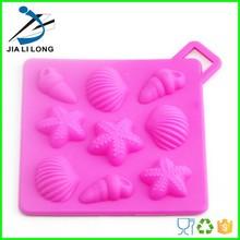 Item Funny silicone mold sea shell shape mould Material 100% food grade silicone, non-toxic, non-stick, eco-friendly Color Colou