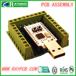 DIY Double Sided PCB, PCB design, PCB Assembly