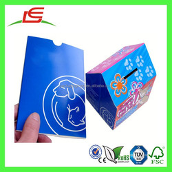 Q1303 China Wholesale Cardboard House Shaped Charity Collection Box, Promotional Money Collection Box, Pop Up House