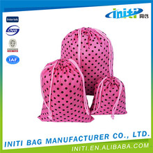 2015 Promotional wholesale cheap make drawstring bag