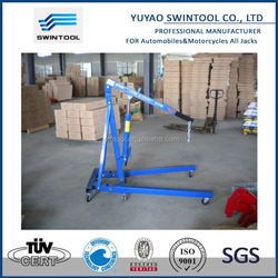 garage tools with ce hydraulic foldable shop crane