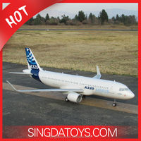 2.4G 4CH RC Airbus Plane A320 Brushless TS831