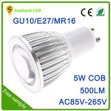 Special design good heat gu10 5w powerful lantern spotlight candle power