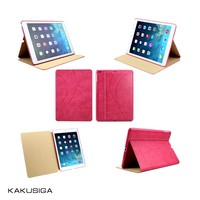 H&H luxury professional ultra slim leather case for ipad air from China supplier