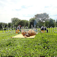 2015 high technology two person two stroke tea harvesting machine