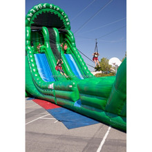 inflatable sport games/Amazon Zip Line A & B