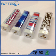 2600mah power bank for smart mobile phone