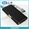 Horizontal belt loop hanging mobile phone pouch for iphone 6