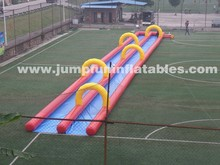 2015 Inflatable City Water Slide, Inflatable Street Water Slide custom-made with Rubber Pads