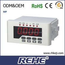 CE Approved 48X96MM Panel Ampere Hour Meter with 3 Year Warranty (RH-DA51H)
