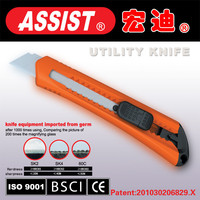 ASSIST retractable flash trimmer cutter utility knife of chinese manufacturer
