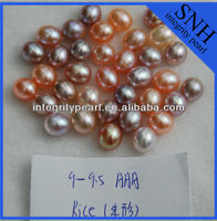 natural freshwater loose pearl with no hole wholesale
