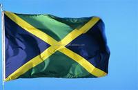 very cheap custom Jamaica hand flag