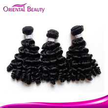 2015 new most selling products virgin funmi hair extensions minimum inquiry quantity Brazilian aunty funmi hair bouncy curls