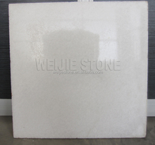 Polished surface cut-to-size stone form stellar white marble