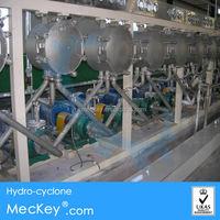 Cassava starch processing plant