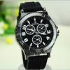 Vintage Big round Dial Silicone Strap watch Sports Quartz Analog WristWatches women gift wrist watch