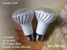 R63 R50 R39 CERAMIC LED BULB LIGHT LAMP E27 5W/7W/9W 85-265V 5730 SMD