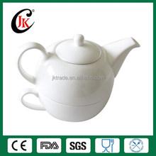 Wholesale tea pot and tea cup porcelain tea set for one person