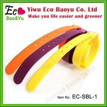 Jelly Rubber Multicolor Eco-friendly Belt