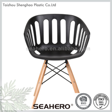 European country style wooden long chair