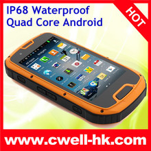 4.3 Inch smart Rugged phone IP68 ALPS S09 Waterproof Quad Core Android 4.2 Smart Phone