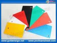 USD 0.38 PE film rohs certificated pvc foam sheet in goldensign