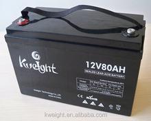 12V80AH Maintenance Free Battery 12V80AH DEEP CYCLE BATTERY