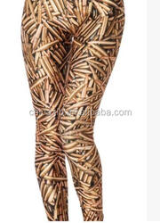 The new personality influx of people stretch leggings bullets printing, 3D digital printing Tights