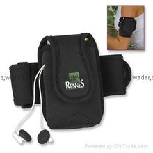 2013 Promotion Gifts Waterproof Neoprene Mobilephone Arm Band Pouch/Package/Cover for Running