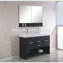 Buena PVC materia prima mueble <span class=keywords><strong>de</strong></span> baño con lavabo <span class=keywords><strong>de</strong></span> cerámica