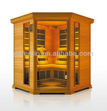 New design Fashionable steam sauna infrared sauna and steam combined room,sauna room
