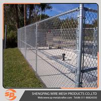 hot sale 6ft chain link fence panels slats lowes