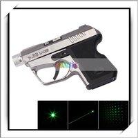100mW Gun-Shaped Laser Pointer Kaleidoscopic Laser Pen Pointer