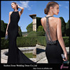 MGA-029 Sheer Back Chiffon Mermaid Formal Dress
