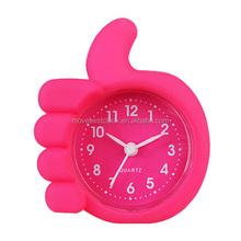 Tiny Sililcone Alarm bedroom clock