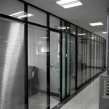 Cheap price for sliding glass door with blinds