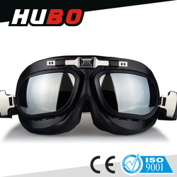 Aviator pilot cruiser motorcycle scooter ATV driving goggles eyewear glasses