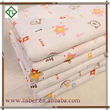 2015 fashion new design pretty polyester knitted digital wholesale print chiffon fabric