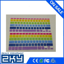 SZKAIY-0094 OEM custom colorful silicone keyboard cover for mac silicone keyboard covers with factory price