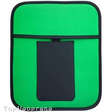 Custom front pocket neoprene tablet moni laptop computer digital sleeve case pouch bag